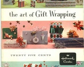How to Wrap Gifts Vintage 1970s The Art of Gift Wrapping Paper Booklet by Hallmark Cards Gift Wrapping Instructions
