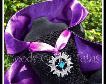 TWILIGHT BABY Vampire Inspired Tutu Dress with Cape - Small 12/18mos
