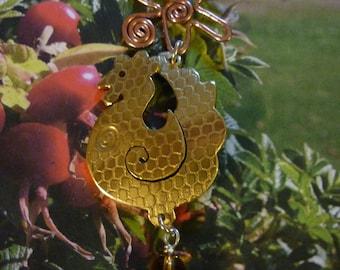 Silver Hen pendant jewellery, SquareHare, Free Postage, UK, VEGAN