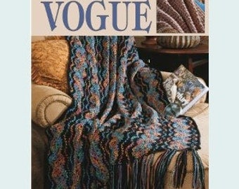 Leisure Arts Crochet Pattern Leaflet Variegated Visions Part No. 3106