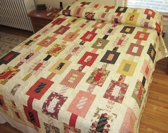 Chain Link Queen Size Quilt