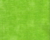 Fitted Crib Sheet--Green Grassy Stripes--MADE TO ORDER