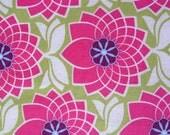 Designer Fabric - Joel Dewberry Heirloom Collection, Chrysanthemum in Fuchsia - 1 yard