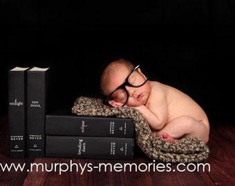 Newborn Photo Prop Blanket Newborn Baby Photography Prop Hand Crochet Blanket