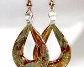 Murano Lampwork Earrings (LIMITED EDITION - Last One) - 'Happily Never After'