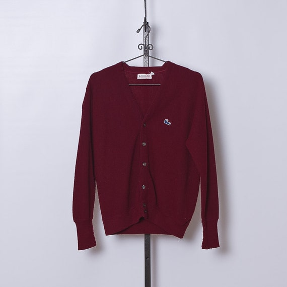 vintage 1960s Izod Cardigan Sweater
