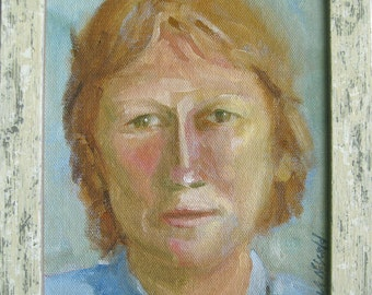 Portrait in oil  - Upgrade to 8x10 - custom portrait painting