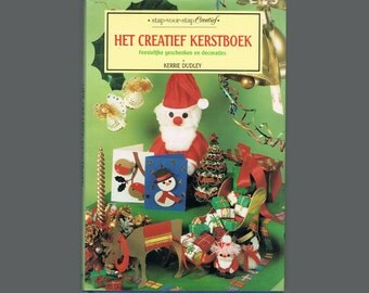 Vintage Craft Book - Creative Christmas - Dutch - Europe