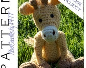 INSTANT DOWNLOAD : Handful of Giraffe Crochet Pattern