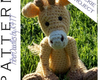 INSTANT DOWNLOAD : Handful of Giraffe Crochet Pattern