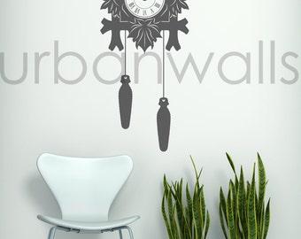 Vinyl Wall Sticker Decal Art - Cuckoo