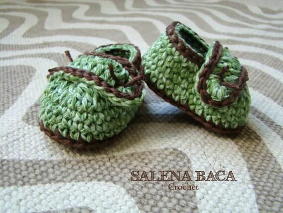 PDF Crochet Pattern - Baby Loafers (Newborn, 0-3m, 3-6m, 6-9m)