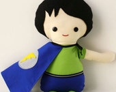 2 custom Scrappy Boy Super hero dolls for MommaG3
