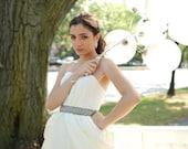Ramona Wedding Dress - peau de soie