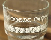 2 Set - Lace & Words Glass Tapes - Feeling (0.6in)