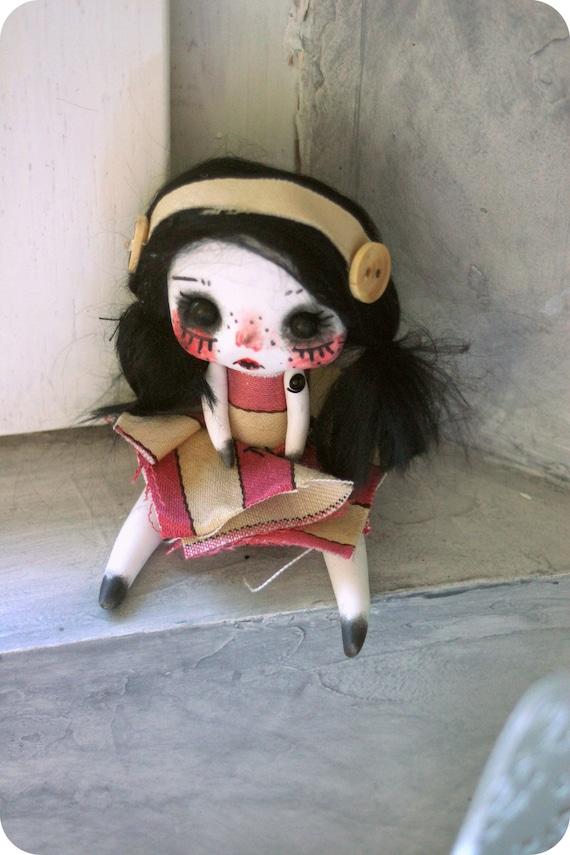 Mini Articulated Doll