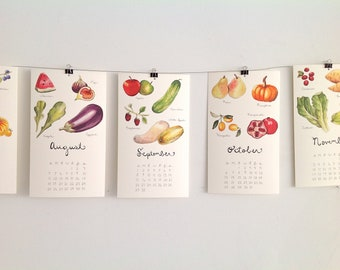 SALE 50% off: 2017 Produce Calendars