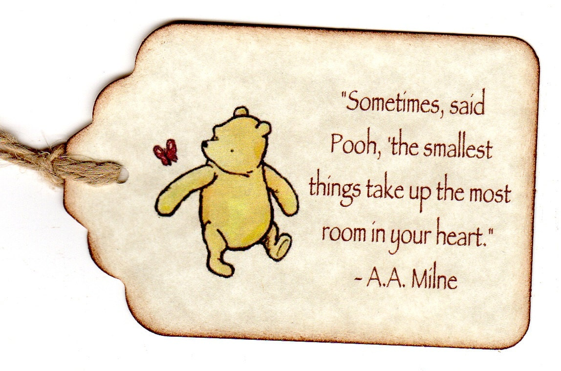 20 winnie the pooh baby shower favor tags baby by luvs2create2