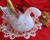 SWAROVSKI Lace Swan