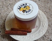 100% RAW  CINNAMON Infused HONEY/Bronx Bees