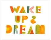 Wake Up & Dream by Sarah Walsh