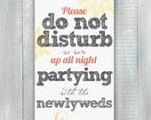 Sketch Party Door Hanger PDF