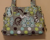 Quilted Purse  Bag  Handbag Tote  Bow  Style Bag  Custom Made for You