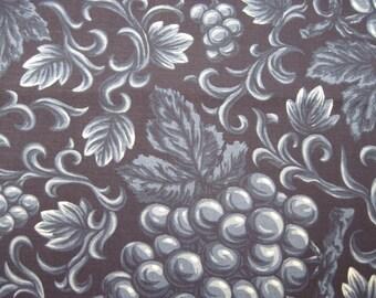 Blue Grape Fabric