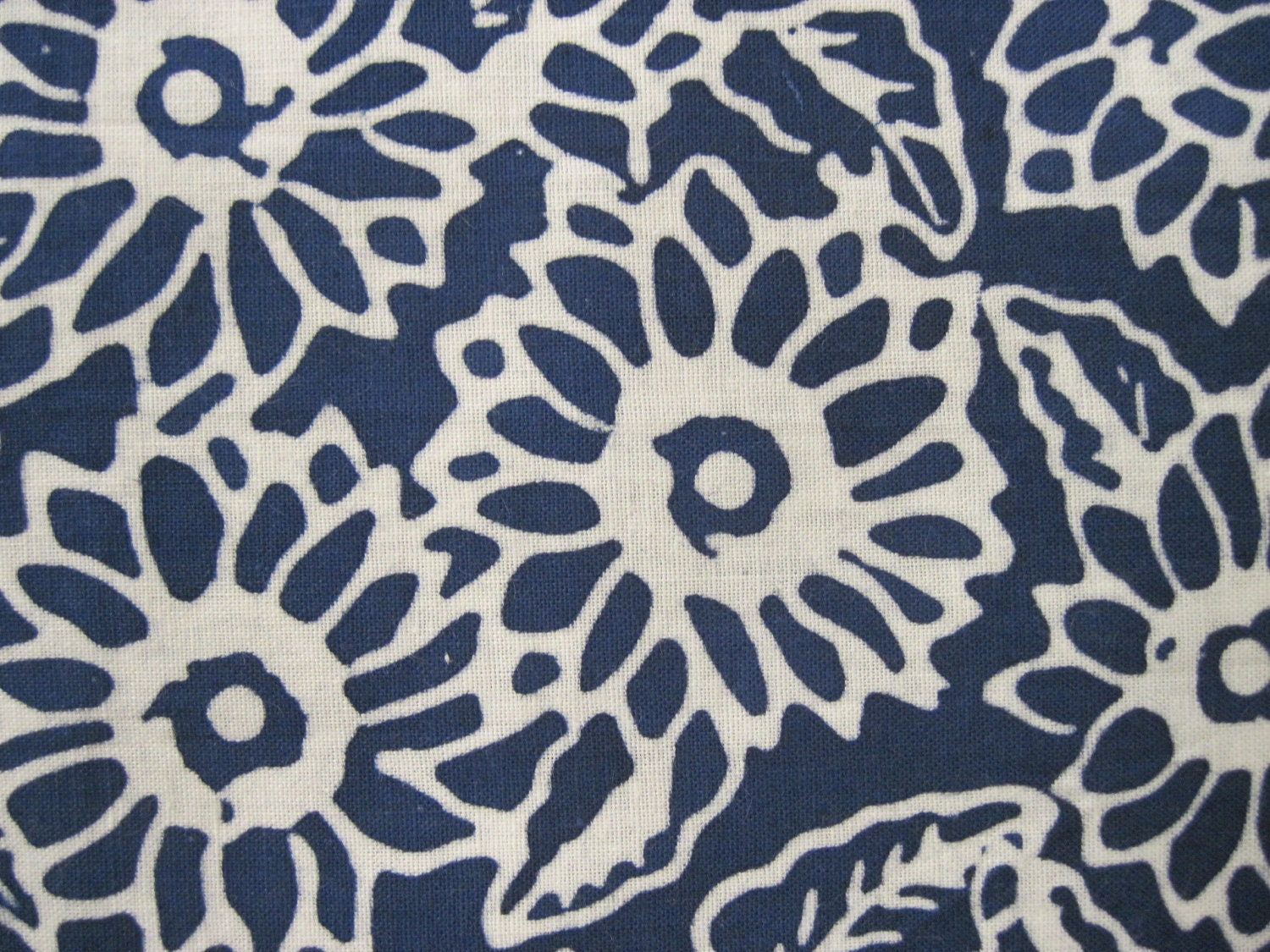 blue and white floral batik print fabric 1yd by seams4ever on etsy. Black Bedroom Furniture Sets. Home Design Ideas