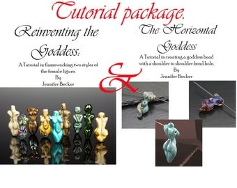 Tutorial Package - Both of my goddess tutorials 5 dollars off - Instant Download -