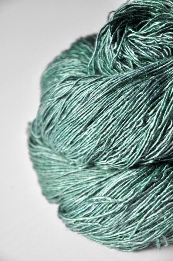 Fresh mountain air - Tussah Silk Yarn Fingering weight