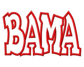 Bama Digital Embroidery Machine Applique Design 10591