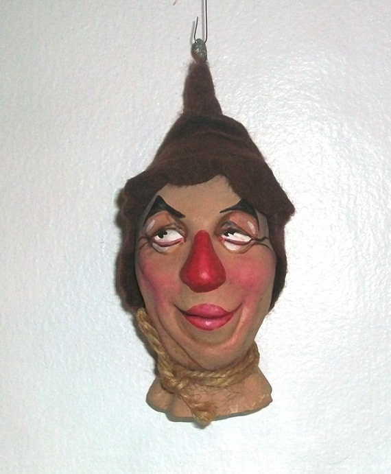 On Reserve for kroffty. The Scarecrow - a Wizard of Oz caricature ornament by the late New York Artist Ron Kron - 1 of 5