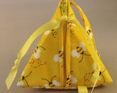 Pacifier Pyramid/Coin Purse/Jewelry Bag/Knitting Notions/PouchTriangle Pod Pouch