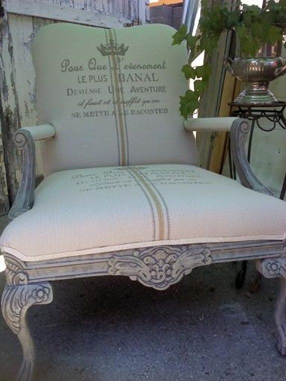 Reserve for Lindsey - French and Unique Chair - SALE
