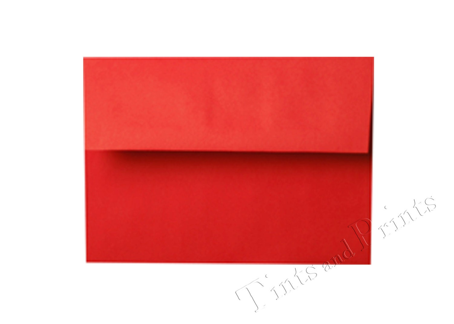 A7 Envelopes Red Set of 25 for 5x7 cards and invitations