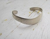Vintage Mexican Sterling Silver  Cuff Bracelet c.1970s