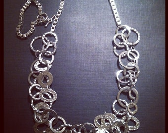 Rings Around Necklace