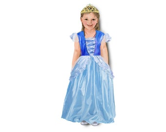 Princess costume. Single outfit for magnetic dolls.