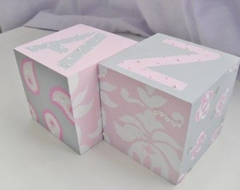 Bookends for Children- SHABBY CHIC Theme with Pearls