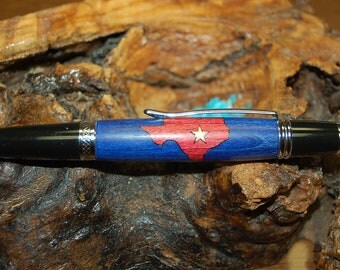 Lovely Texas Map Pen  (398)