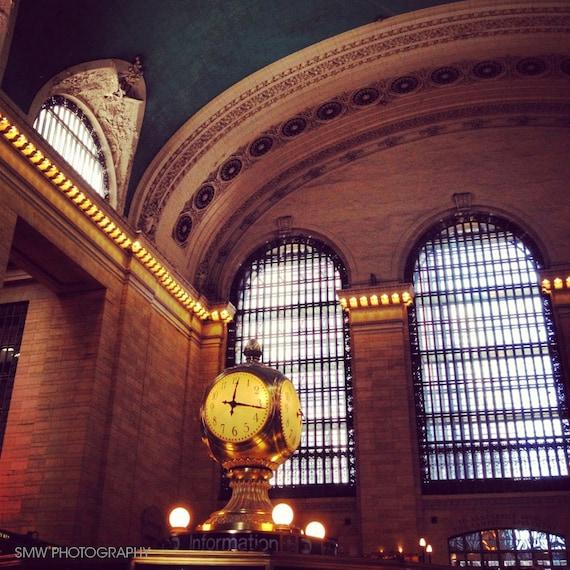 Clock at Grand Central