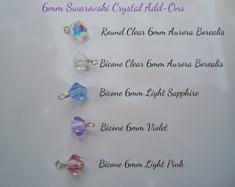 Swarovski 6mm Crystal Add-Ons