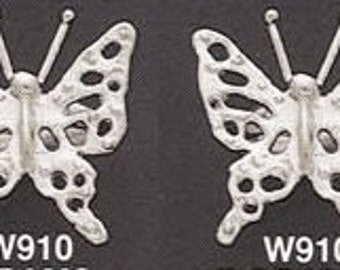 Butterfly Cufflinks Sterling Silver Free Domestic Shipping