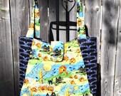 Halloween Quilted Hobo style handbag Retro  Print