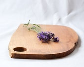 Farmhouse Cutting Board, Natural Edge Salvaged Wood, 657, Ready to Ship