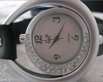 Leather Watch-Women wrist watch-Bracelet wrap Watch Leather Wrap Watch Bracelet Antique Leather Watch-rretro Watch- bracelet - Women's watch