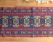 INDONESIAN handwoven TAPESTRY Geometric ethnic tribal weaving from MyGypsyCottage on Etsy