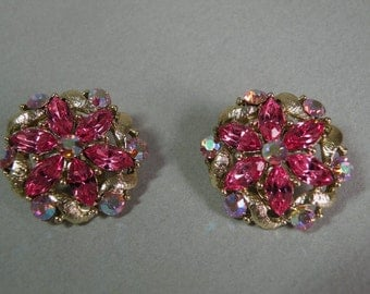 Rose Navette Earrings