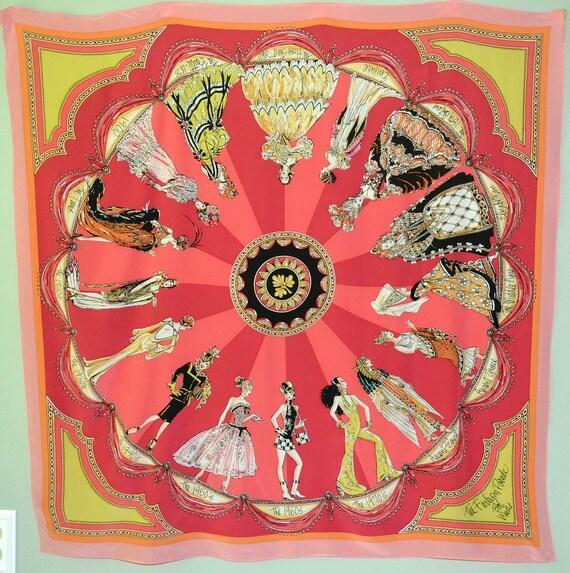vintage bob mackie silk scarf fashion parade through the ages